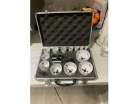 Makita 16 piece holesaw kit (new)