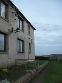 2 Bedroom First Floor Flat to Rent in Coldingham with stunning countryside views