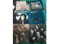 19 vinyl albums 1970s rock pop and soul