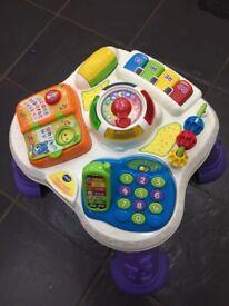 V Tech play & learn activity table £10