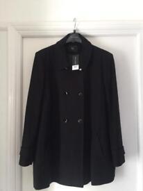 Brand new size 22 Dorothy Perkins coat