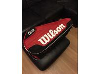 Tennis / Badminton bag. Wilson Federer Team 6 bag