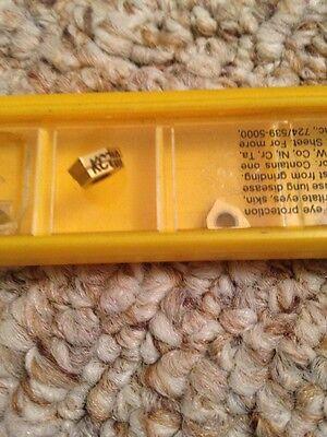 Kennametal W272001004 Kc710 Carbide Indexable Trigon Drilling Inserts Qty 5