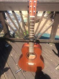 Maestro elite series et1 solid cedar guitar poss Free Del Devon cornwall