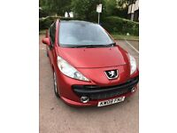 PEUGEOT 207, 1.6 PETROL,AUTOMATIC GEARBOX, 5 DOORS