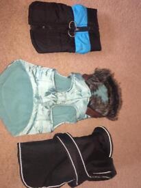 Dog coats xs/s