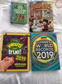 Factual books for age 7-9
