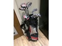 Young Gun Pro Series Junior Golf Clubs and Bag.