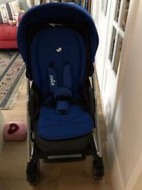 Joie Chrome Plus pushchair.