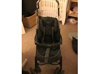 Silver cross 3D charcoal travel system