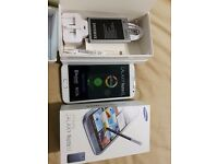 SAMSUNG NOTE 2 WHITE 16GB UNLOCKED BOXED