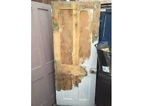 Original victorian solid pine doors