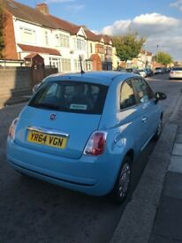 Fiat 500 Blue