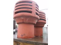 Large Chimney Cowls For Sale, For Ventilating Your Chinmey! They Are £40 Each. *BRAND NEW*