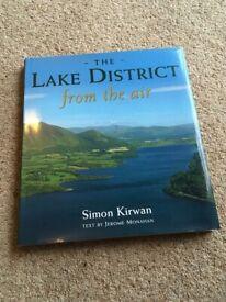 The Lake District from the Air - Simon Kirwan / Jerome Monahan hardback book