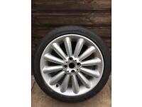 Mini Cooper Alloy Wheel and Tyre