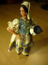 Doll - Rare collectable Spanish doll - REDUCED