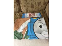 Thomas Tank curtains and bedding. Very well cared for from clean, non smoking, pet free home.