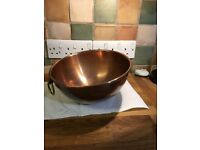 Mauviel copper beating bowl 26cm