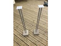 Modern speaker stands (four in total)