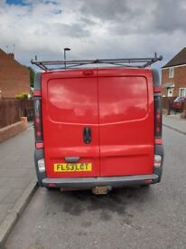 Vauxhall Vivaro 1.9 2900 DTI LWB Diesel Van Good Condition