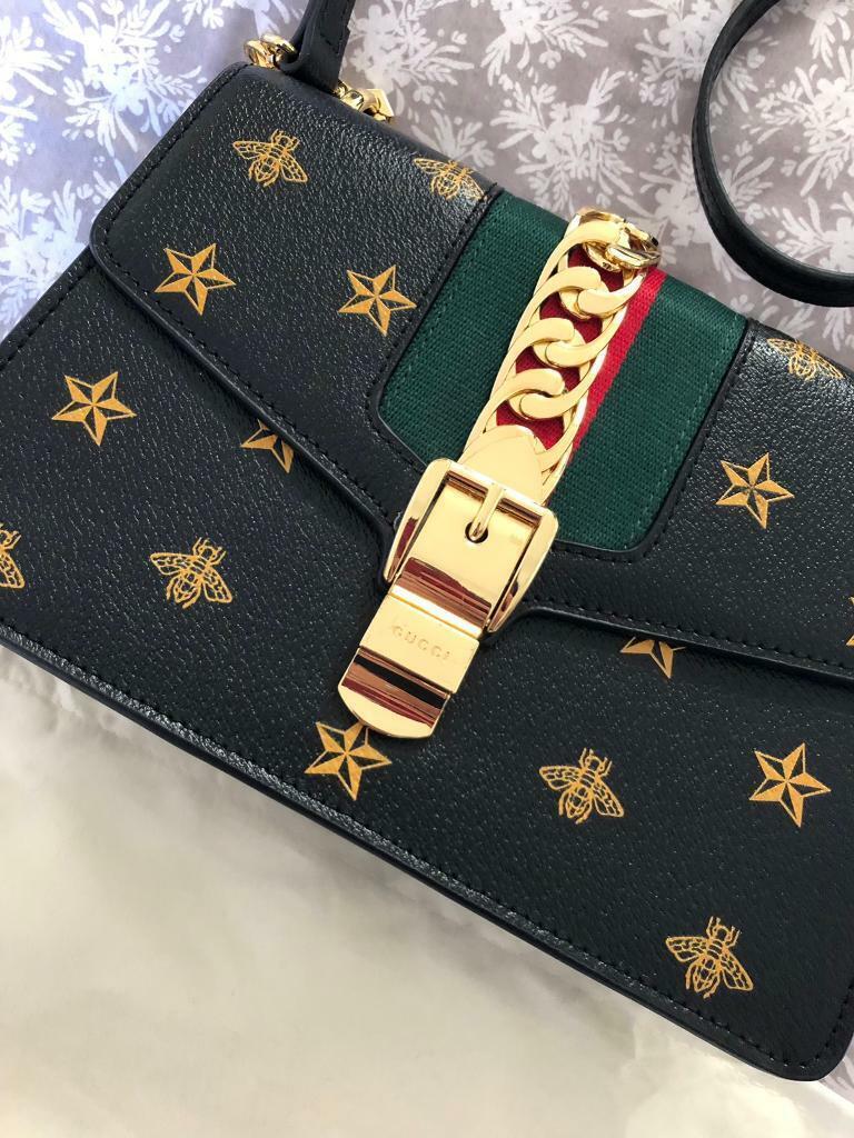 233da1f0cbc4 Gucci Sylvie Bee Star Mini Bag   in Cullingworth, West Yorkshire ...