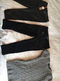 Designer kids clothing, two items unworn