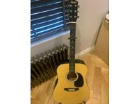 Squier Acoustic Guitar With Accessories