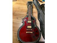 Westfield SE4500 LP style electric guitar+quality hardcase (immaculate condition)