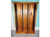(CD Rack) Storage Unit. (Real Wood.)