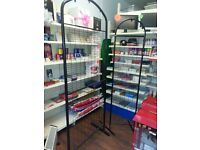 metal shelving for shop - various bays