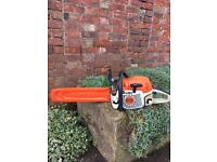 "Stihl ms 362 c 18"" chainsaw."