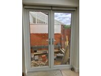 UPVC double glazed French doors (SOLD Subject to collection)