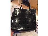 Black Macy's bag
