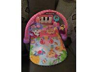 Fisher price pink play mat