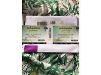 2 Justin Bieber at Hyde Park tickets