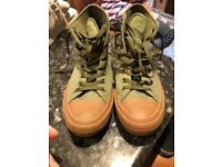 Converse Chuck Taylor All Star II High Trainers Herbal Green Gum Size 9