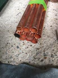 22mm copper pipe 10 x 3m lenghts