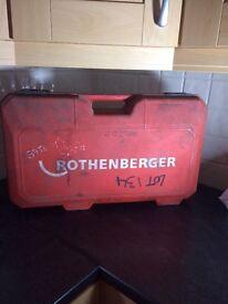 Rothenbuger supertronic 2000 PIPE THREADER