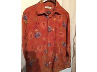 J COLEMAN EXPENSIVE SHIRT AS NEW IN VELVET ONLY 15 SIZE 16.5X42
