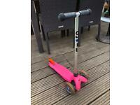 Micro Scooter Mini 3 in 1 ride on (pink)