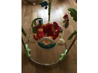Rainforest fisher price jumperoo