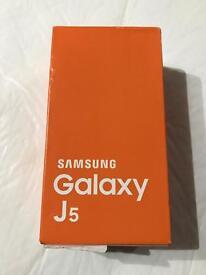 New and boxed Samsung Galaxy J5 Black 8GB