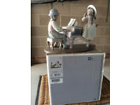 lladro ornament ............jazz duo
