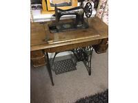 Singer treddle sewing machine