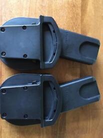 Urbo/Sola/Zoom Car Seat Adaptors - Cybex Aton, Aton Q & Cloud Q/Maxi-Cosi Pebble & CabrioFix