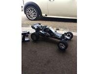 Rc petrol car