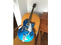 Gretsch G5420T Fairline Blue (Trades for fender start of Gibson SG)