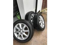 "Toyota Yaris Alloy Wheels 15"" SR 2007, Toyota Aygo Alloy Wheels SR 2007"