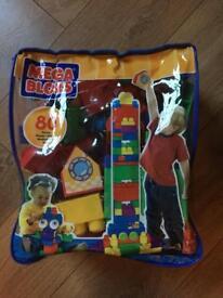 MeGa Bloks, assorted bricks,